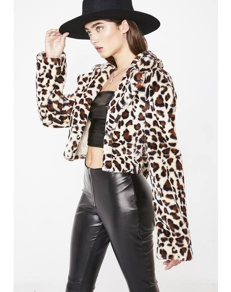 Leopard Mimi Jacket