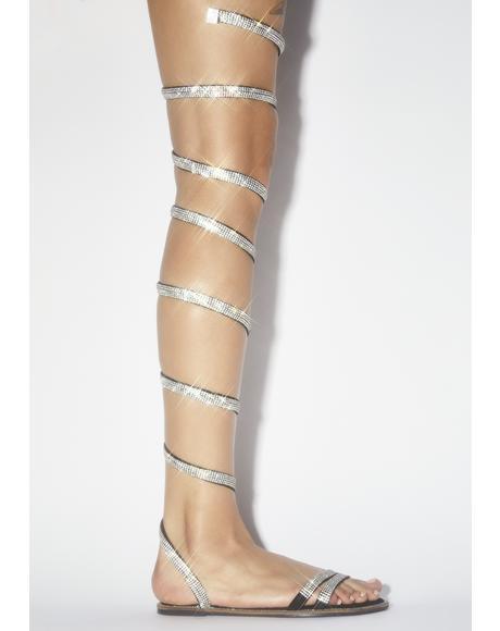 Runaway Wrap Sandals