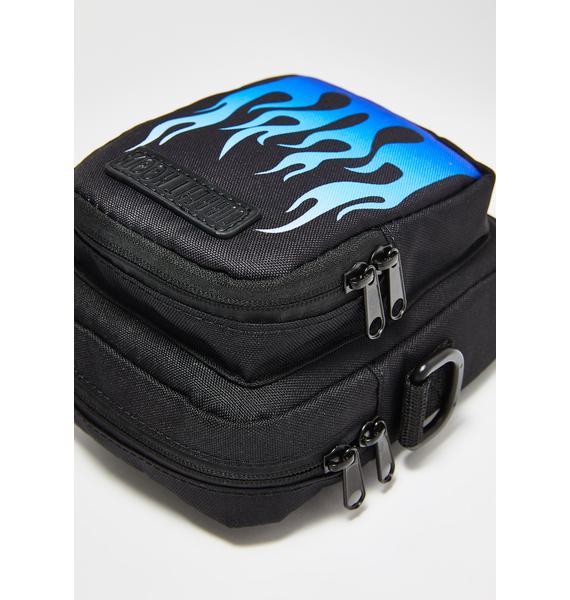 Current Mood Freaky Flame Crossbody Bag