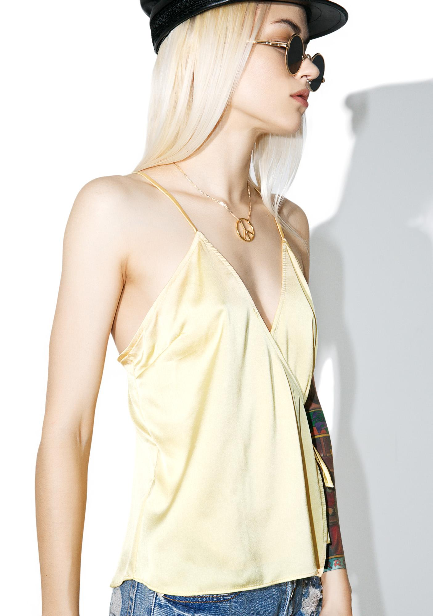 Golden Gurl Cami Top