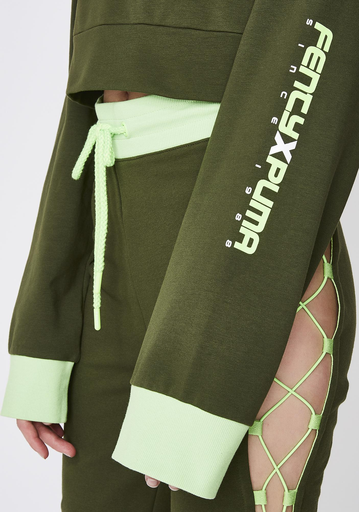 PUMA FENTY PUMA By Rihanna Laced Sweatshirt