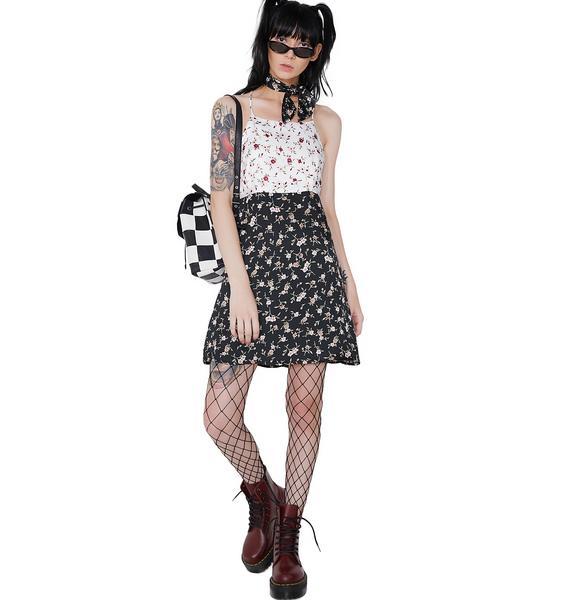 Reality Bites Mini Dress and Scarf