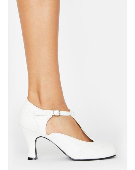 Flapper Block Heels
