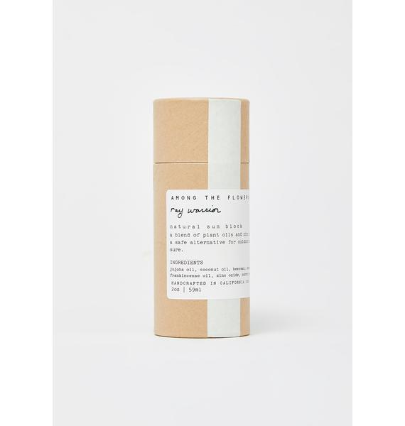 Among The Flowers Ray Warrior Natural UV Shield