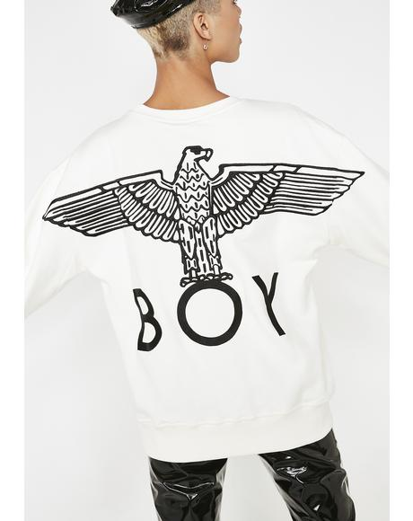 Boy Grosgrain Sweatshirt