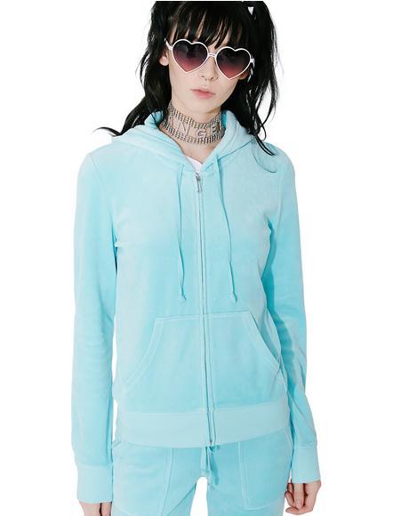 Sky Robertson Velour Jacket