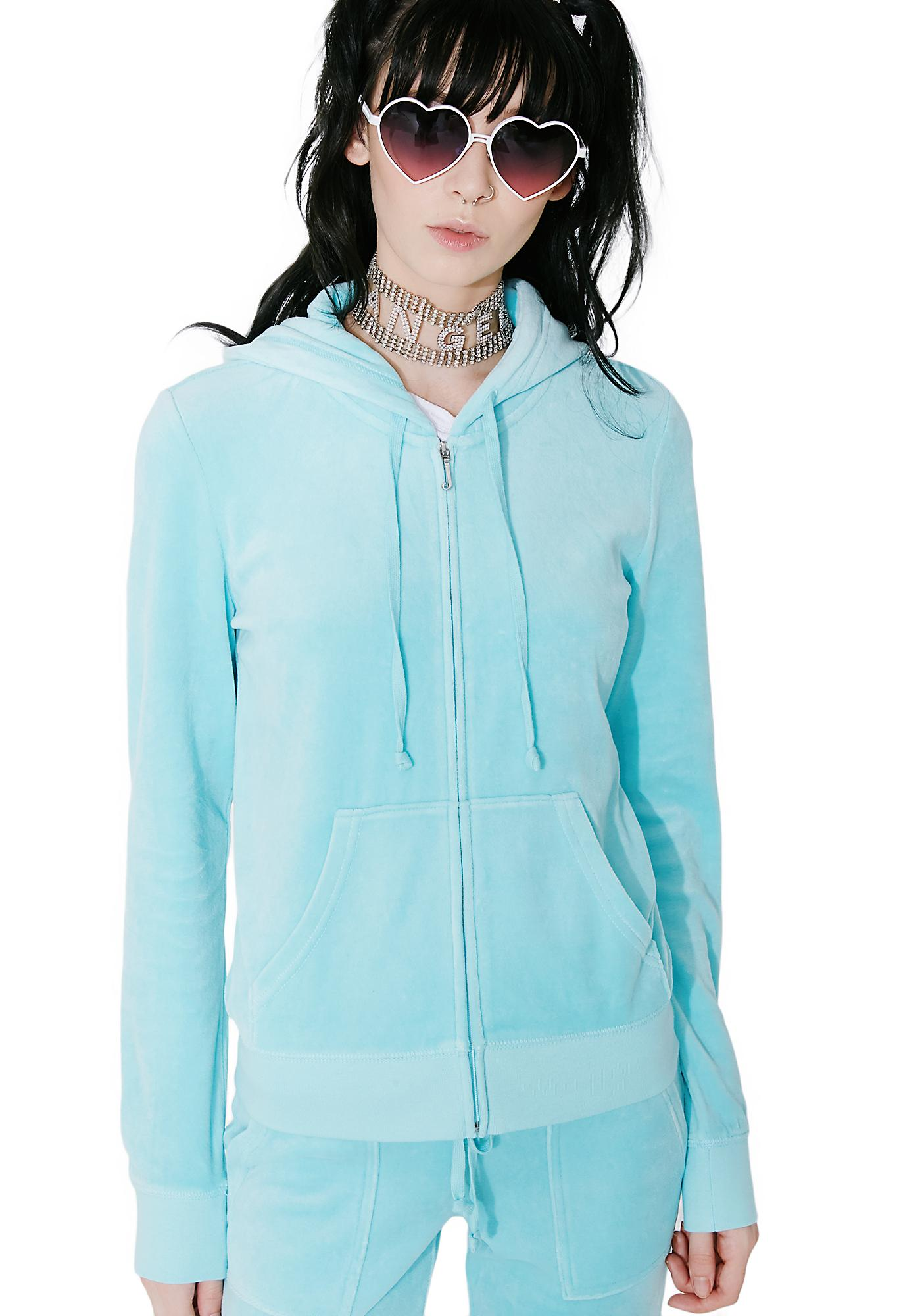 JUICY COUTURE Sky Robertson Velour Jacket