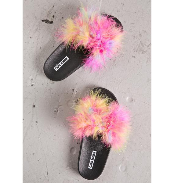 Fairy Floss Fluffy Slides