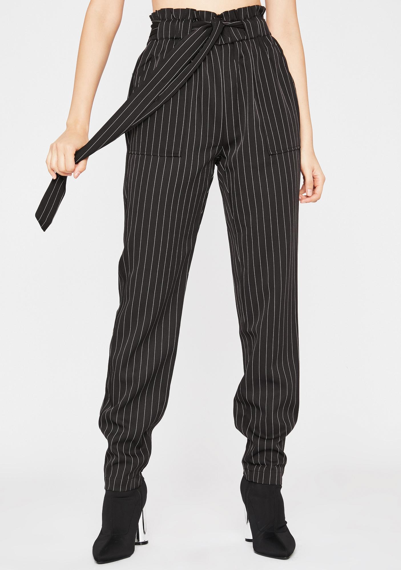 Goin' Downtown Pinstripe Pants