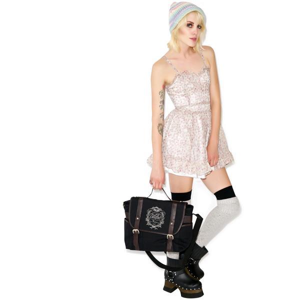 Tripp NYC Sookie Skull Chiffon Dress