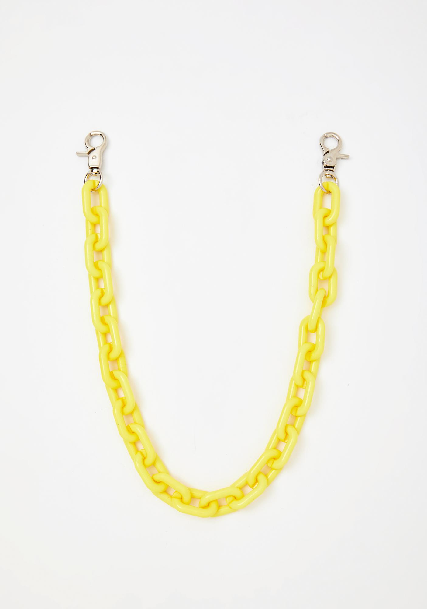 Coming Clean Chain Belt