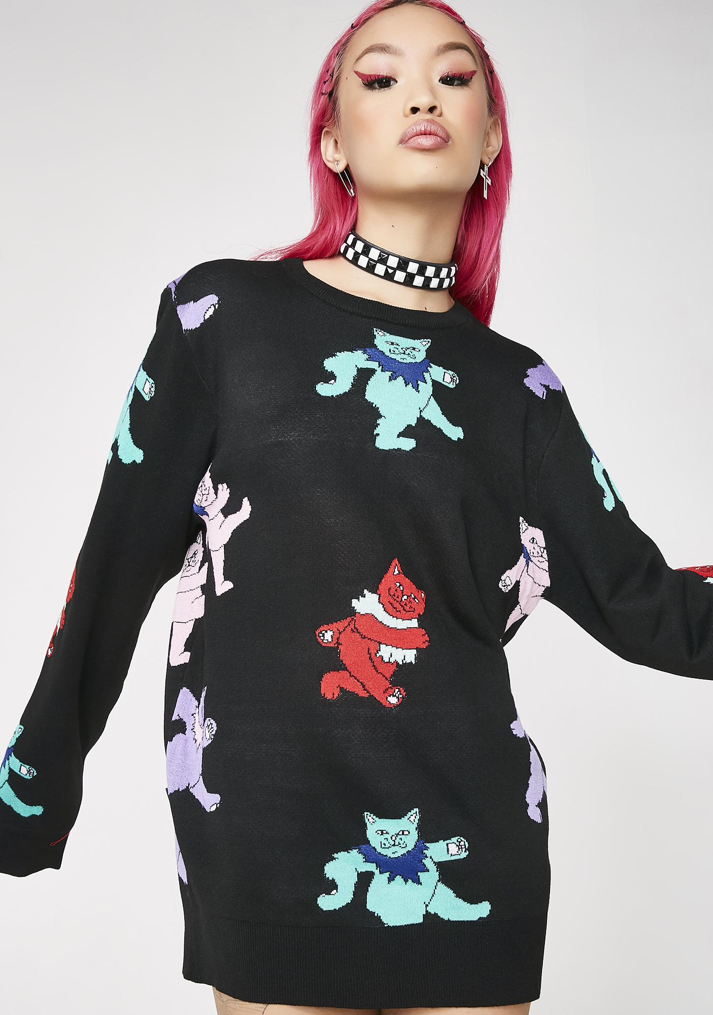 RIPNDIP Dancing Nerm Knit Sweater
