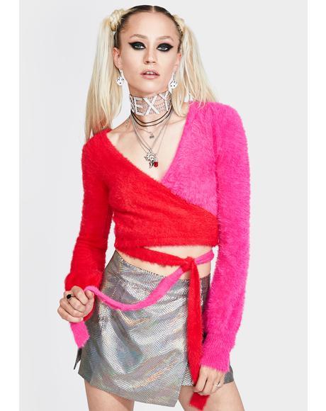 Jackie Wrap Sweater
