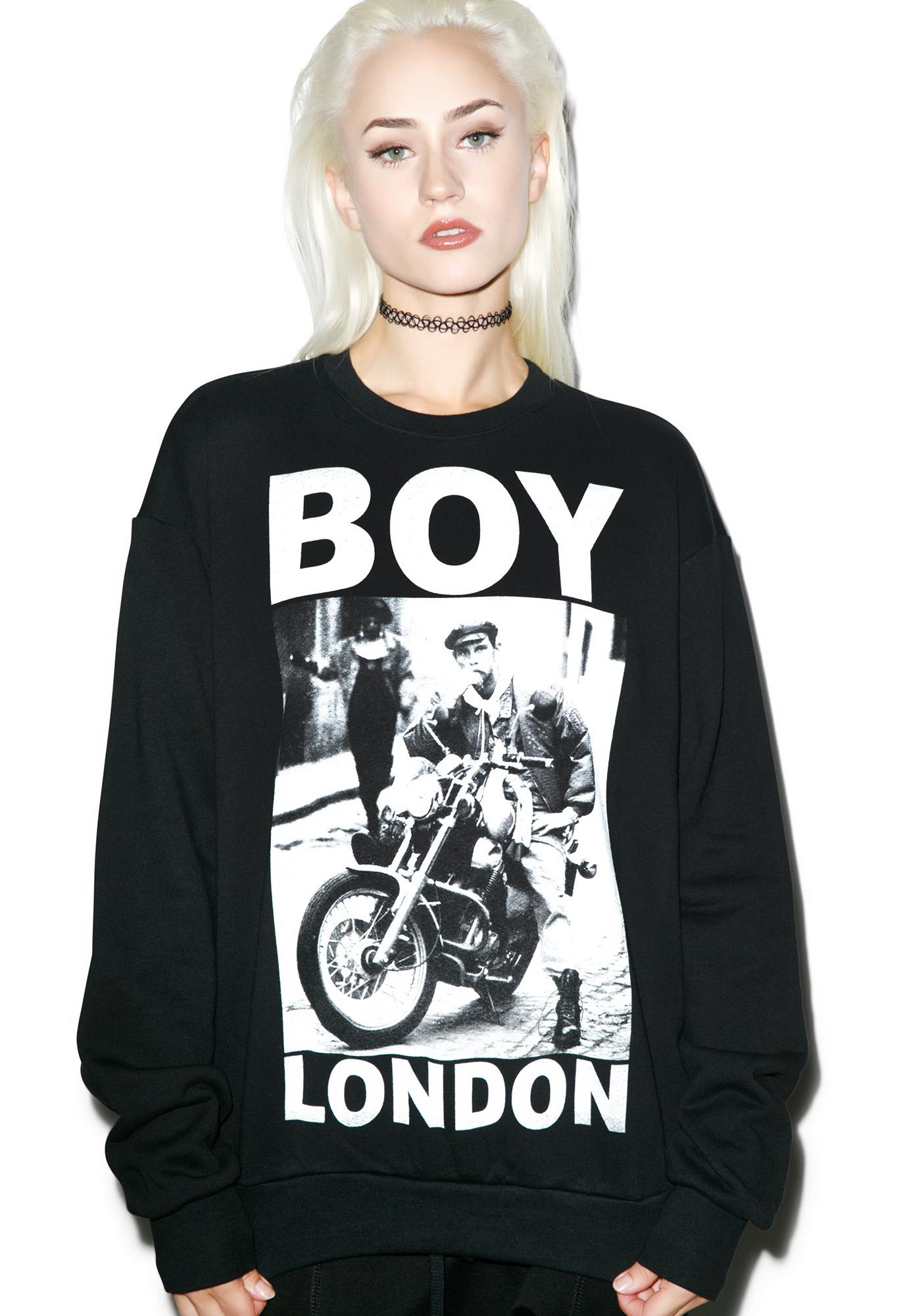 BOY London Cafe Rider Standard Sweatshirt