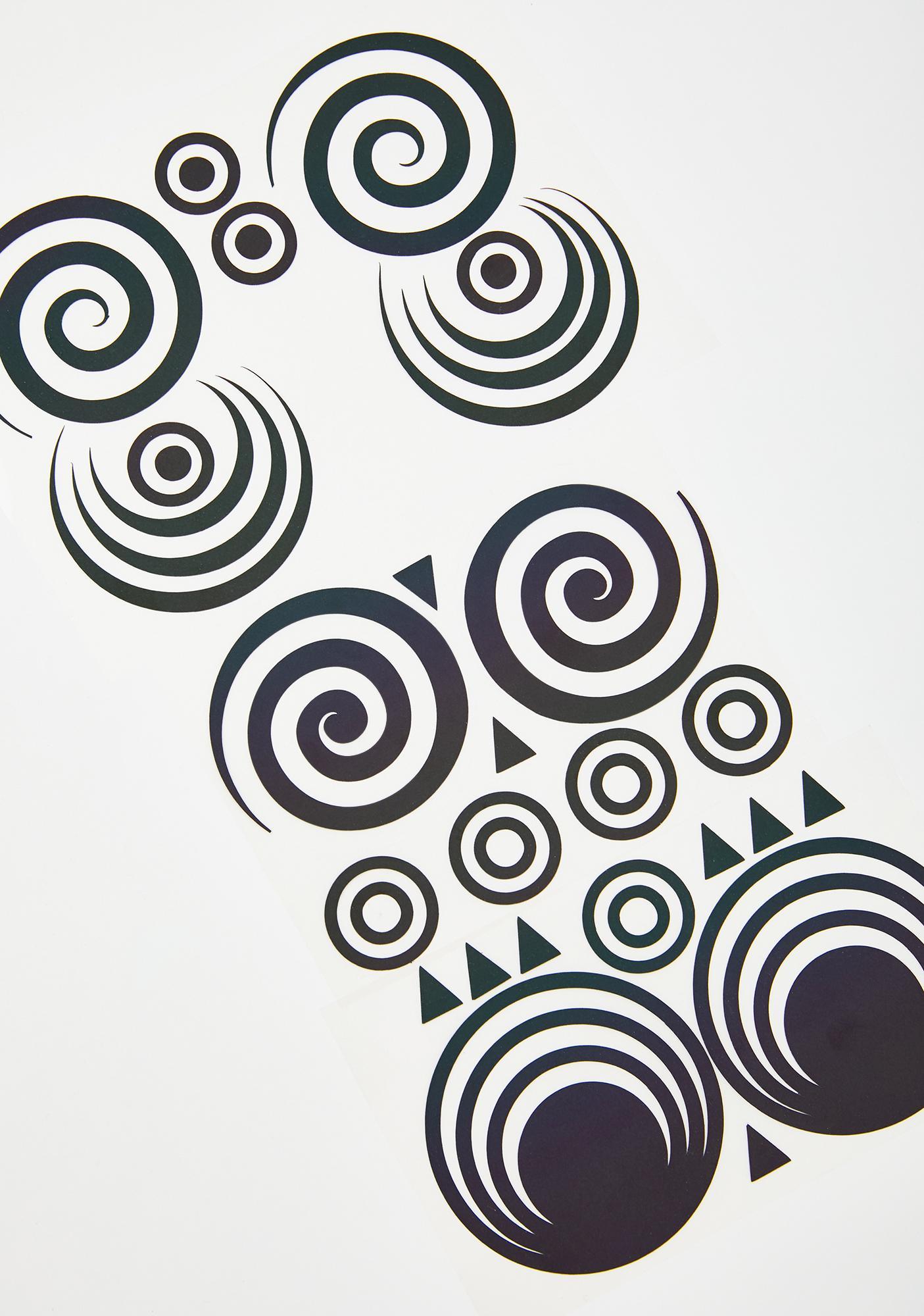 Sasswear Circle Color Changing Pasties Set