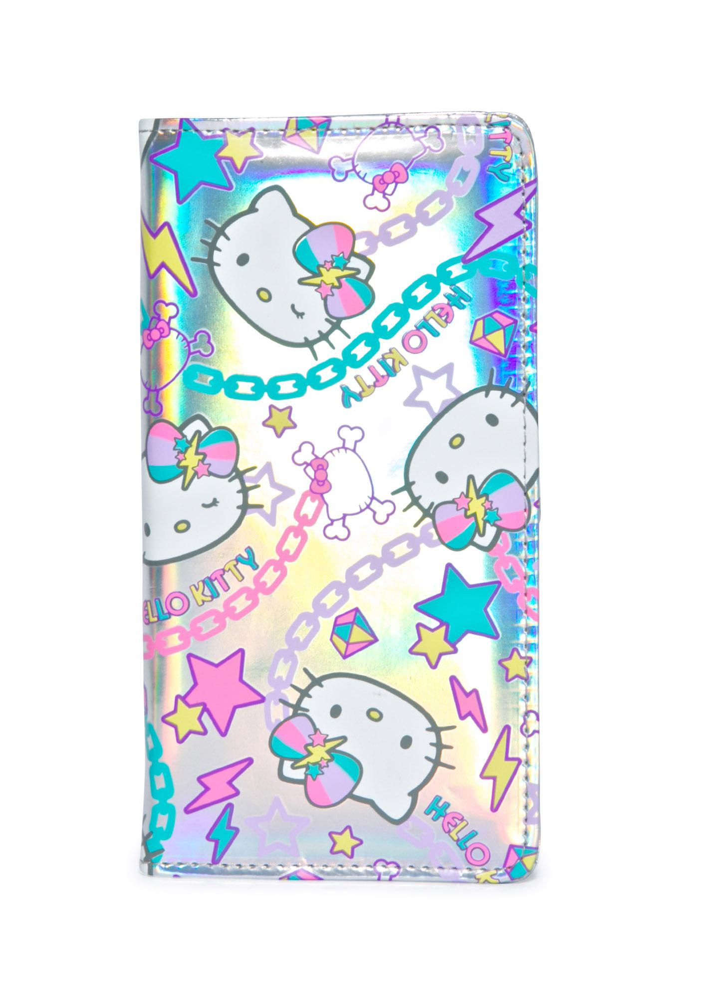 Sanrio Pastel Pop Hello Kitty Long Wallet