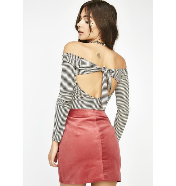 Take It All In Mini Skirt