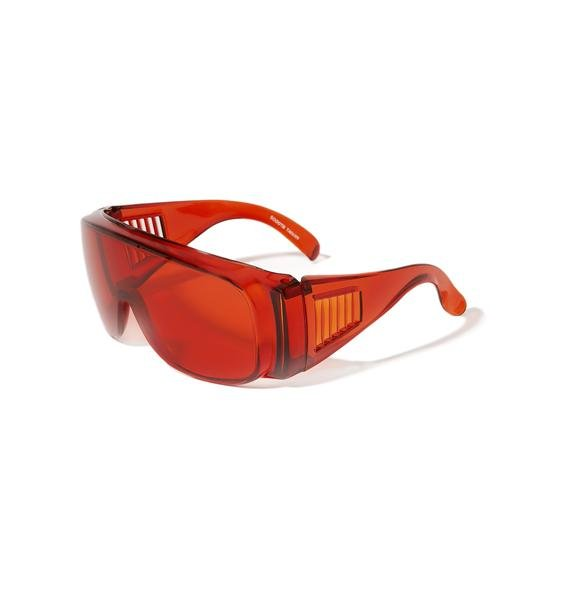 Burning Ember Shield Sunglasses