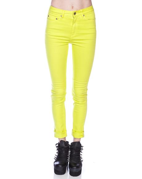 High N Mighty Overdye Skinny Jeans