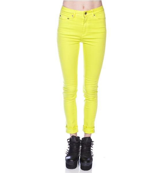 Insight High N Mighty Overdye Skinny Jeans