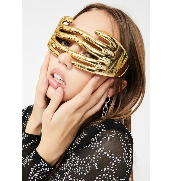 Replay Vintage Sunglasses Golden Hide N Seek Sunglasses