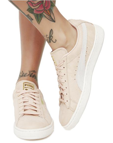 Suede Classic Shine Sneakers