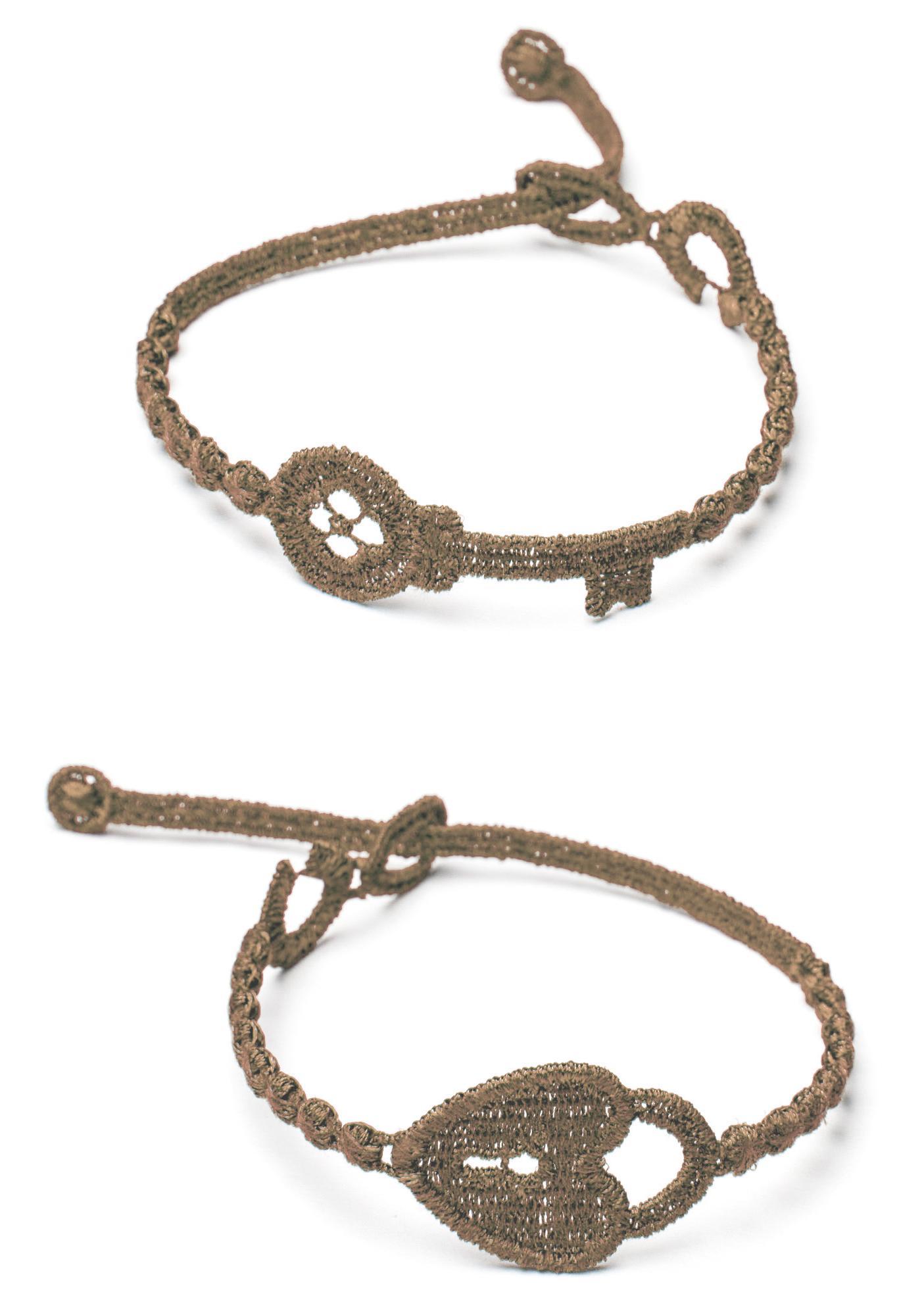 Cruciani Chiave e Lucchetto Bracelet
