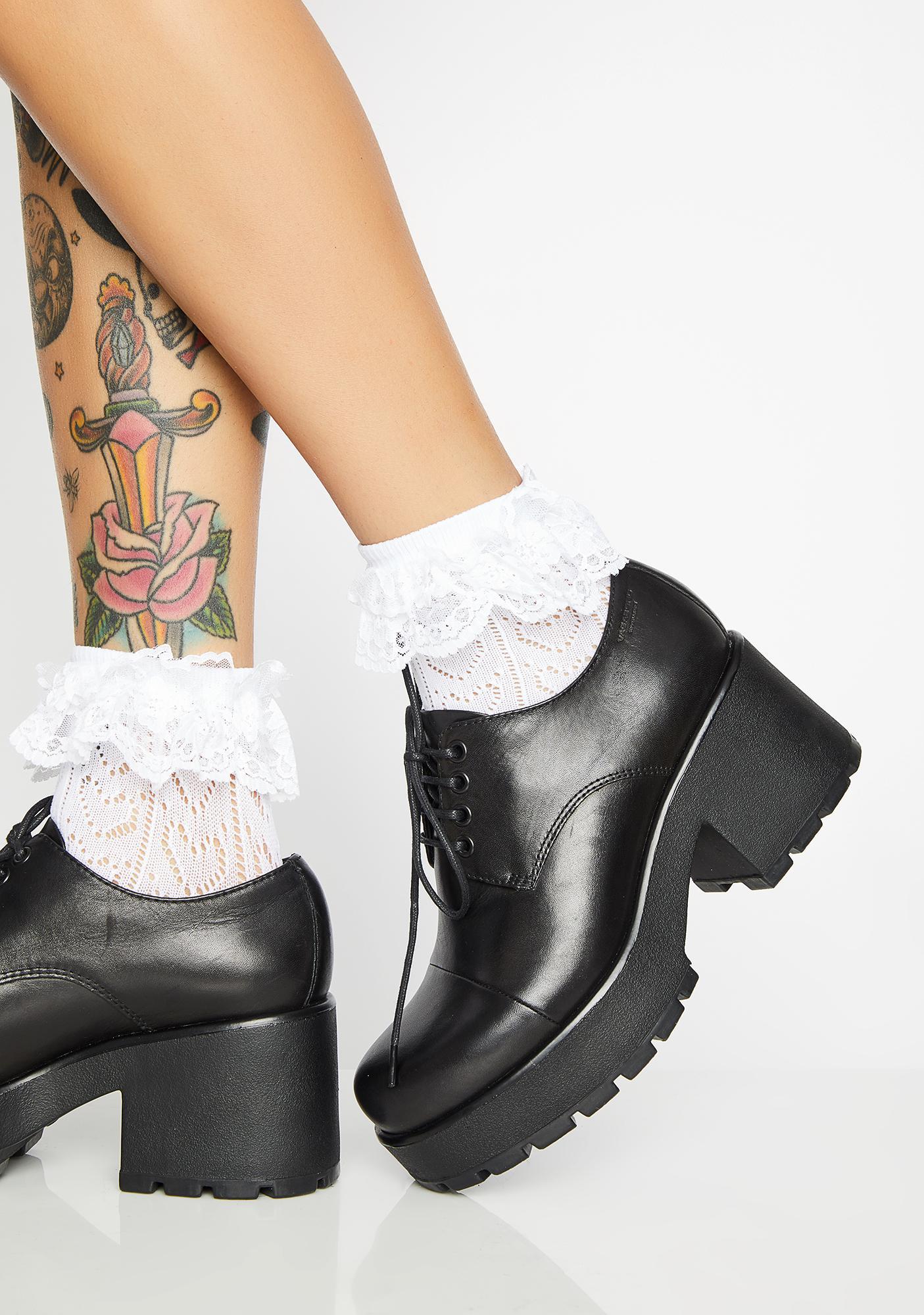 69c414e86 VAGABOND SHOEMAKERS Dioon Leather Platform Oxfords | Dolls Kill