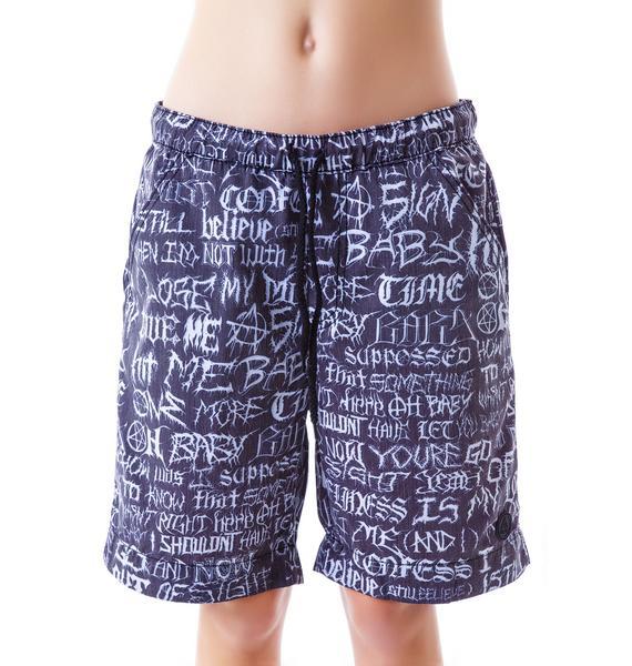 UNIF Brutal Bored Shorts
