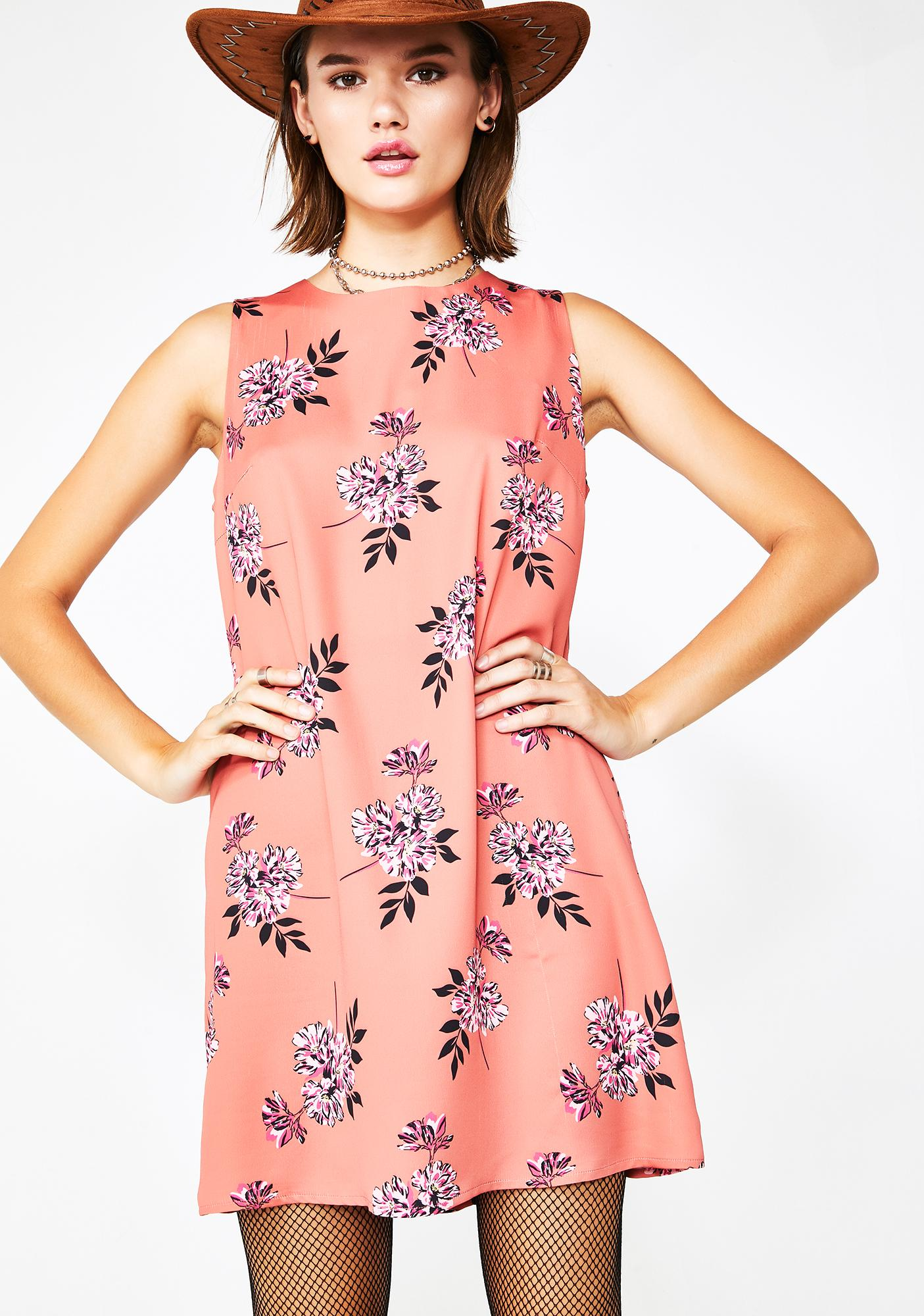 Glamorous Perfectly Posey Floral Dress