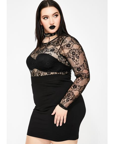 Loss For Words Lace Dress