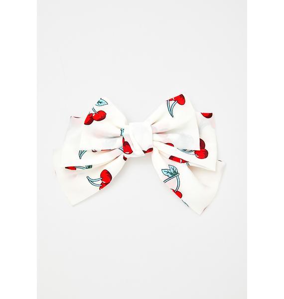 Dynamic Duo Cherry Bow