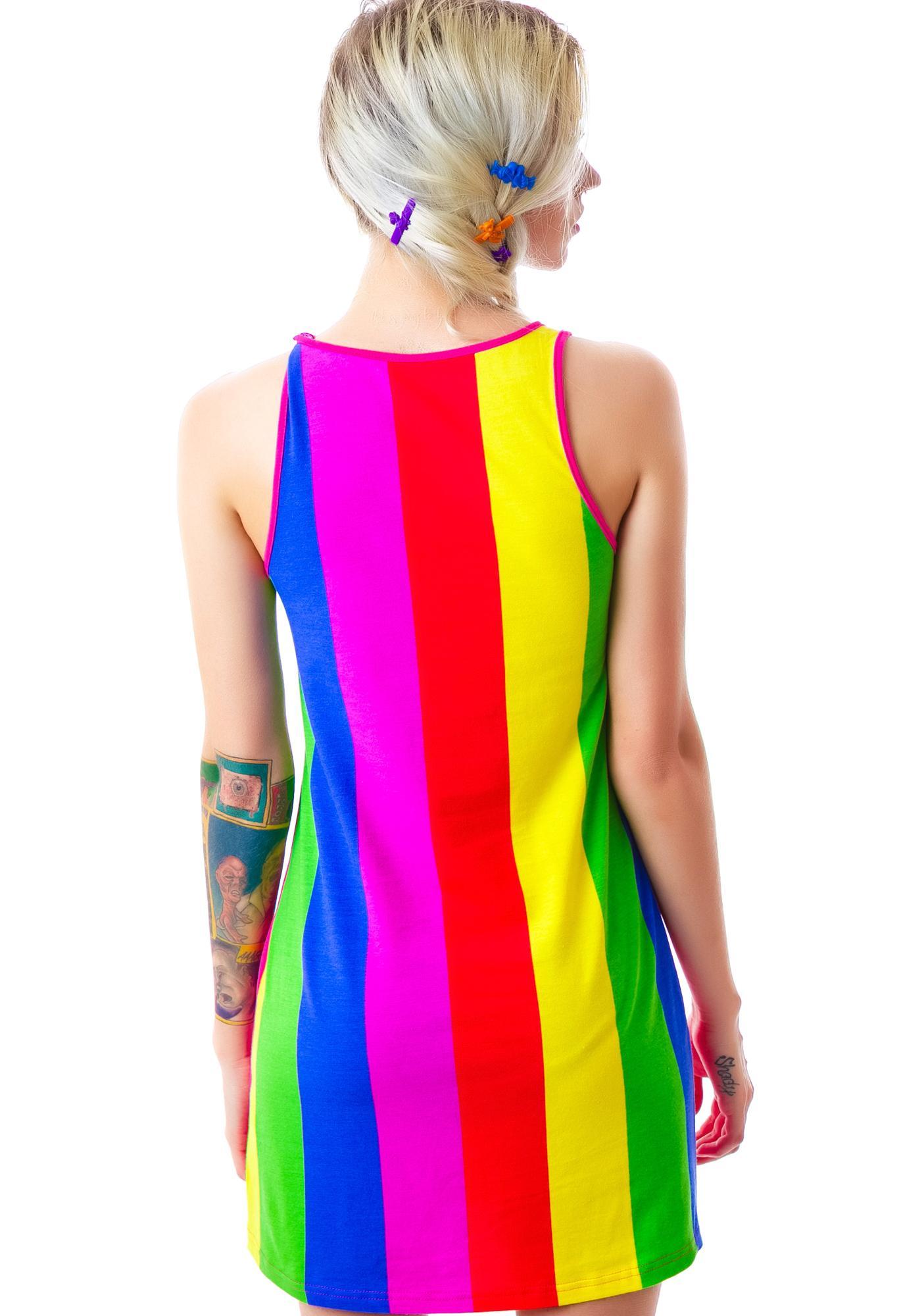 Undergirl Rainicorn Dress