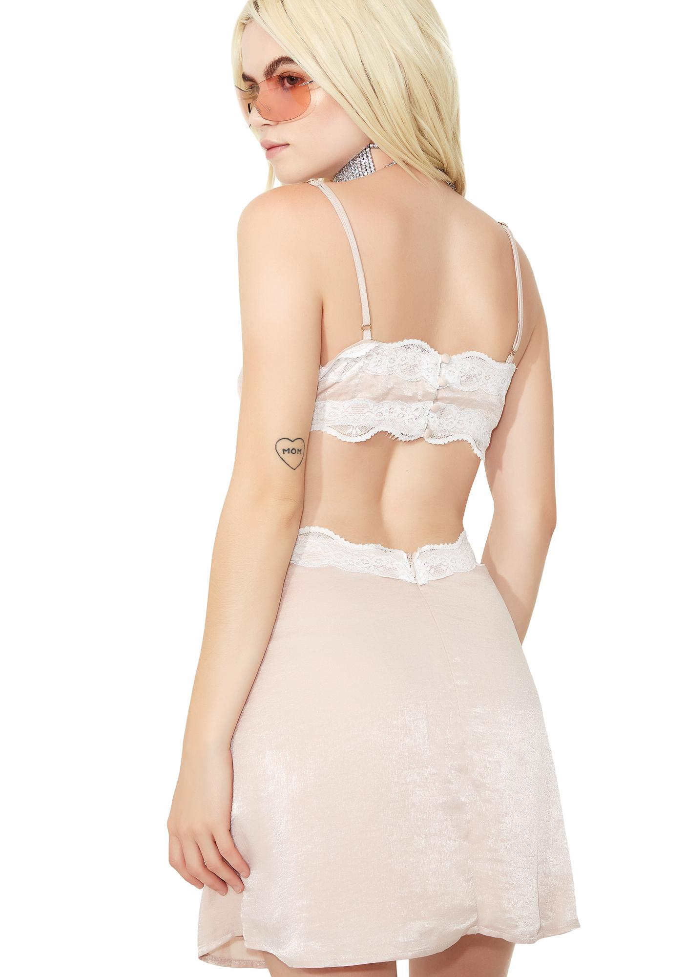 Sweet Dreams Cut-Out Dress