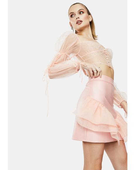The Farfalla Ruffle Skirt