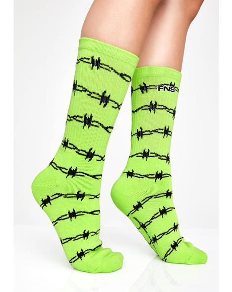 Slime Wired Socks