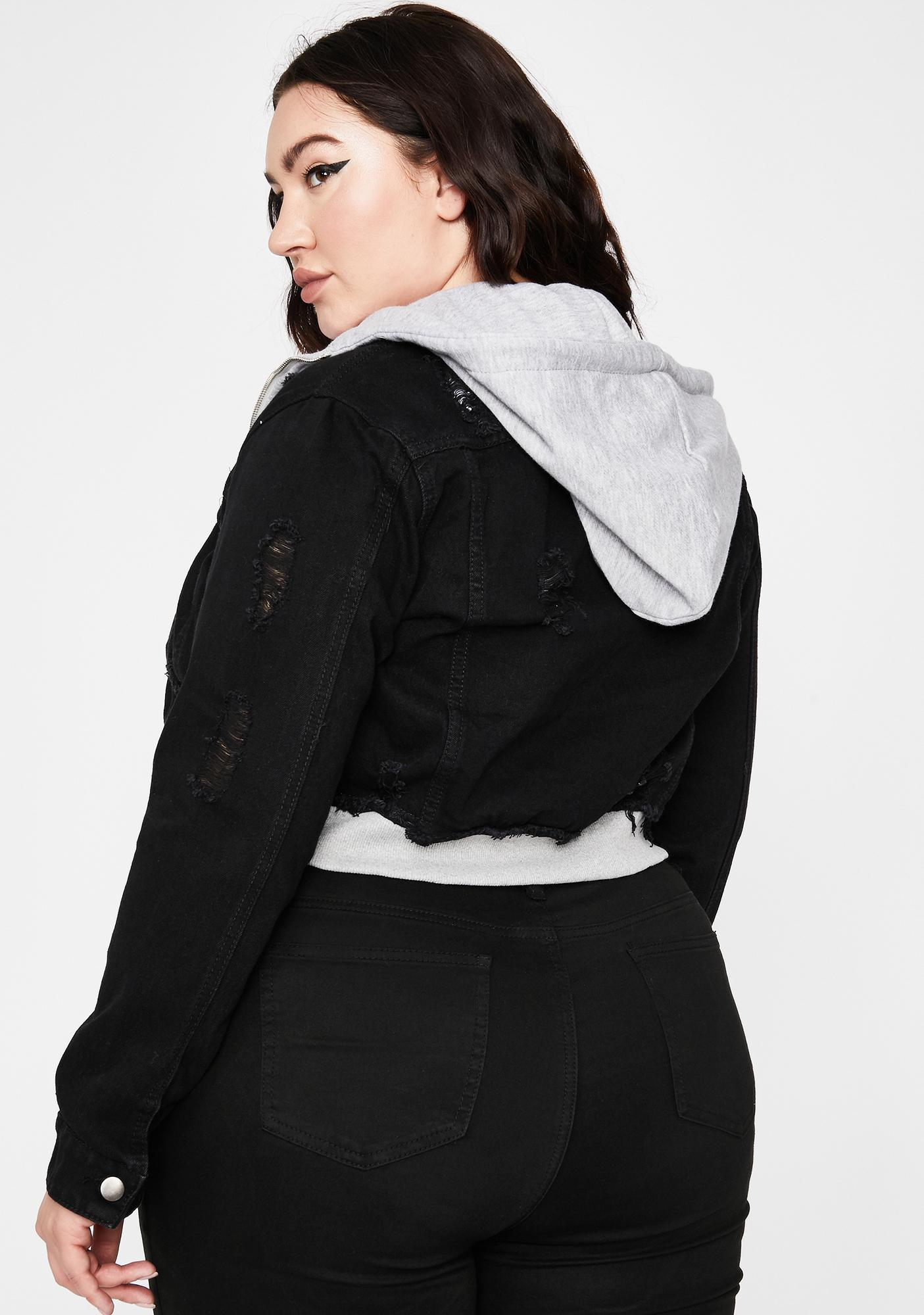 So Bad Give Me Chills Denim Jacket