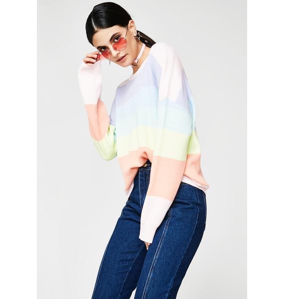 Walkin' On Sunshine Sweater