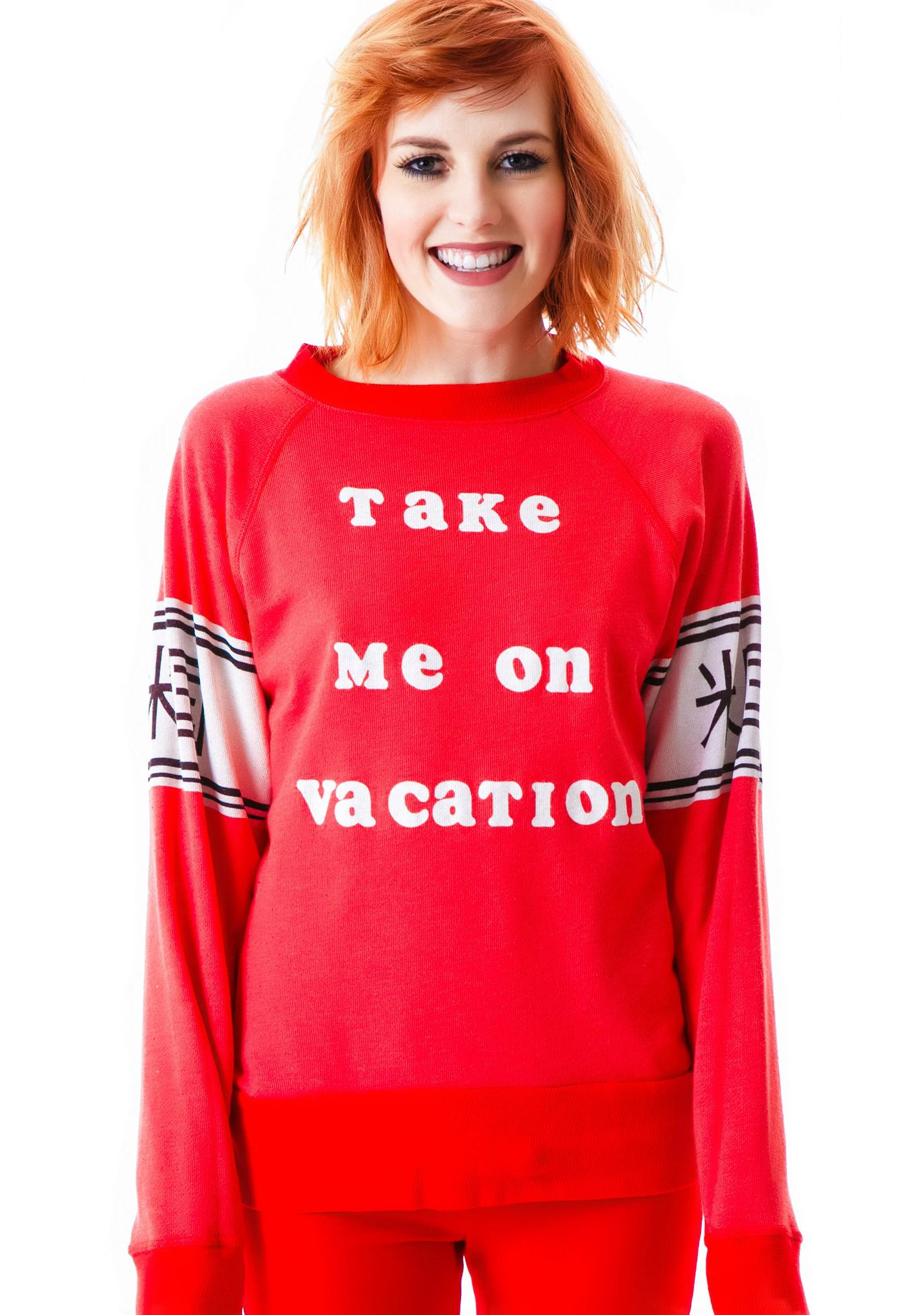Wildfox Couture Breckenridge Nantucket Jumper
