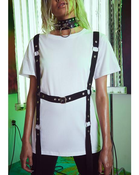 Ready For Action Harness Tee