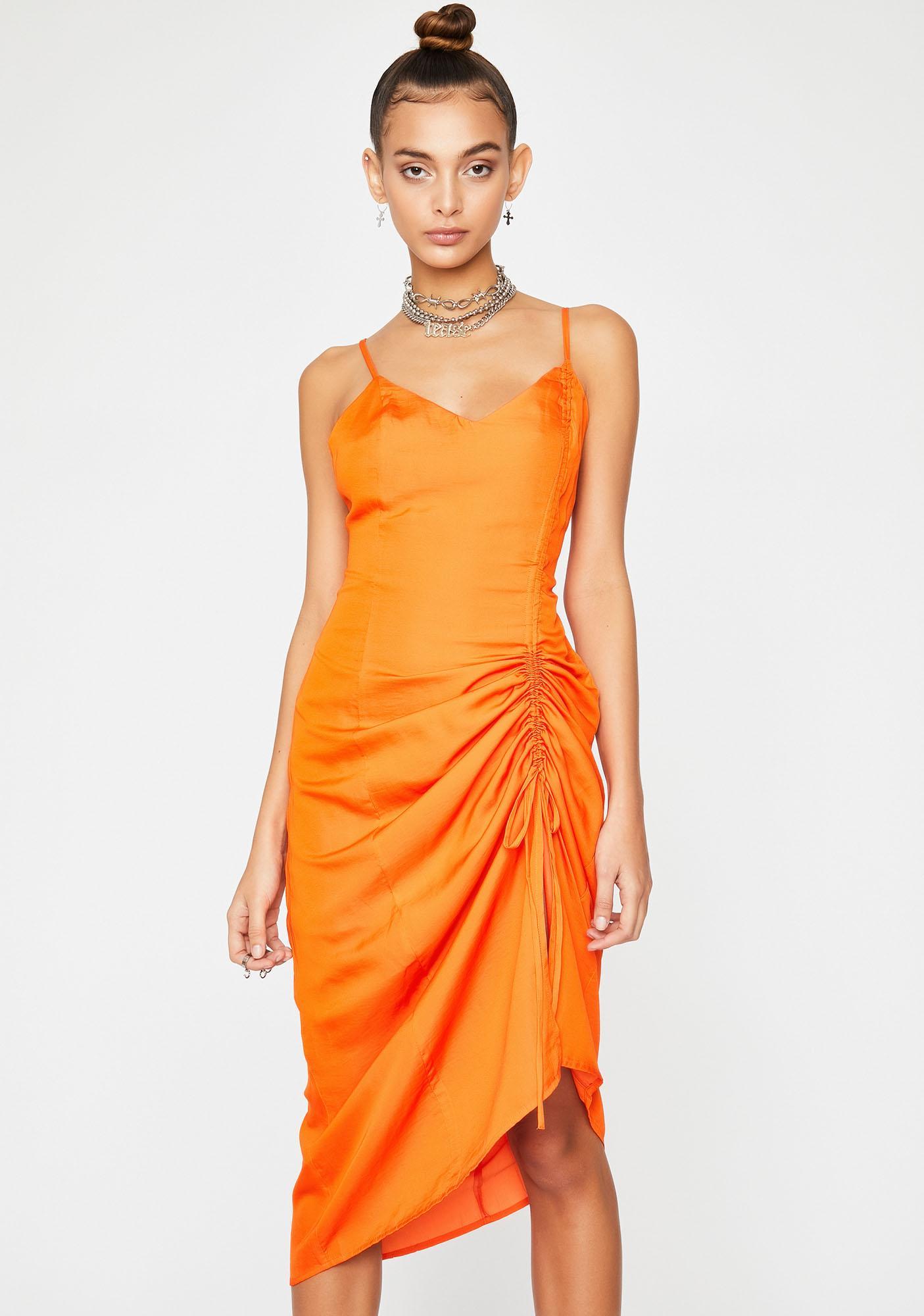 Juicy Flirtatious Bae Ruched Dress