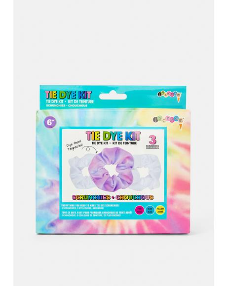 Tie Dye Scrunchie Kit
