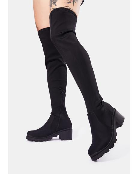 Some Kind Of Miracle Knee High Boots