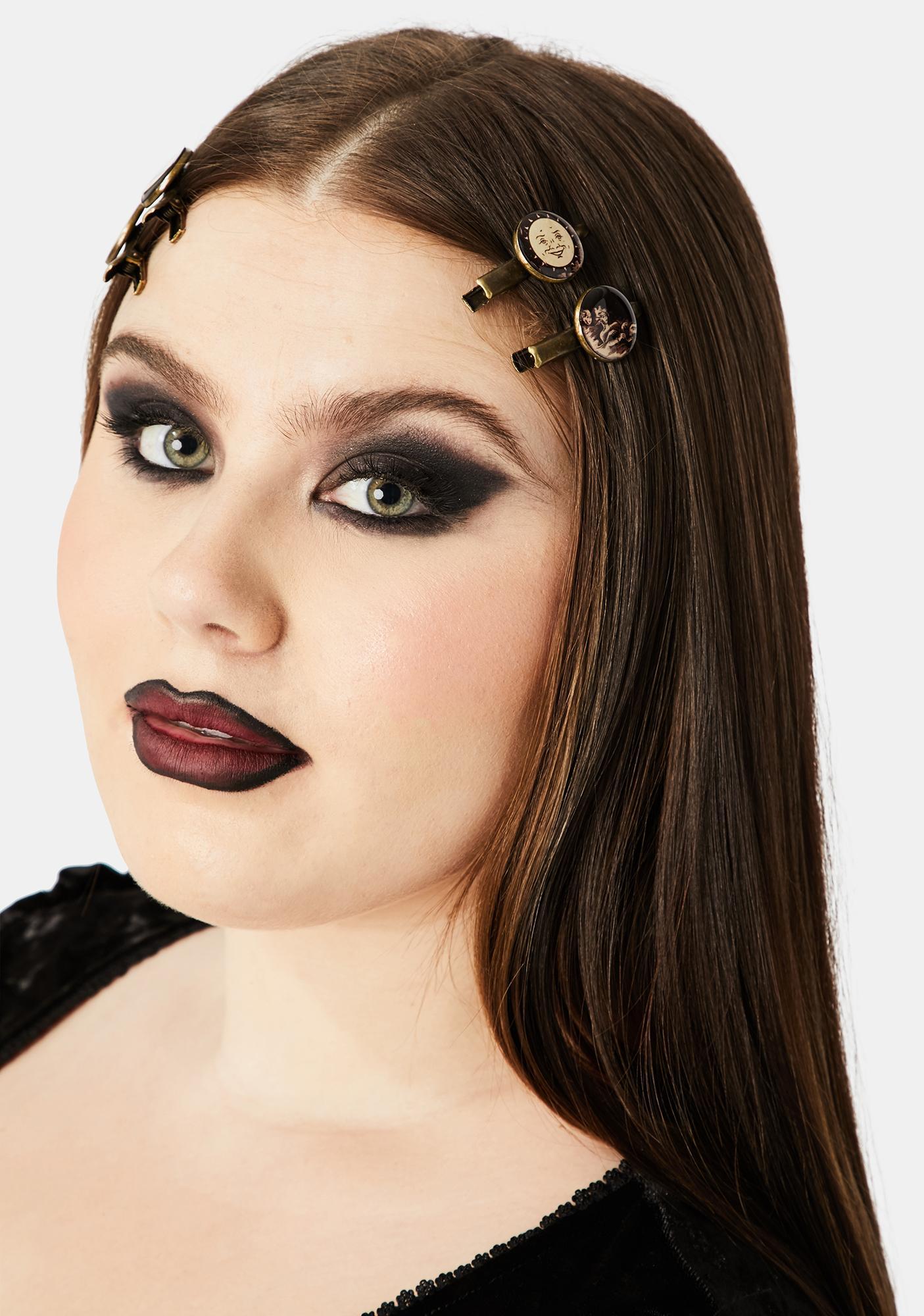 Se7en Deadly Ouija Match Box Hair Clips