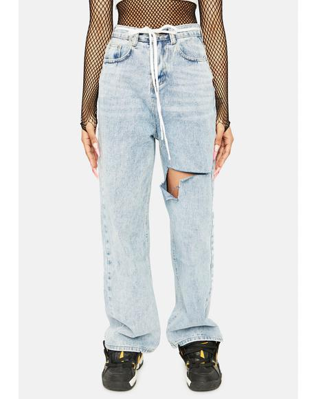 Unmatched Excellence Wide Leg Jeans