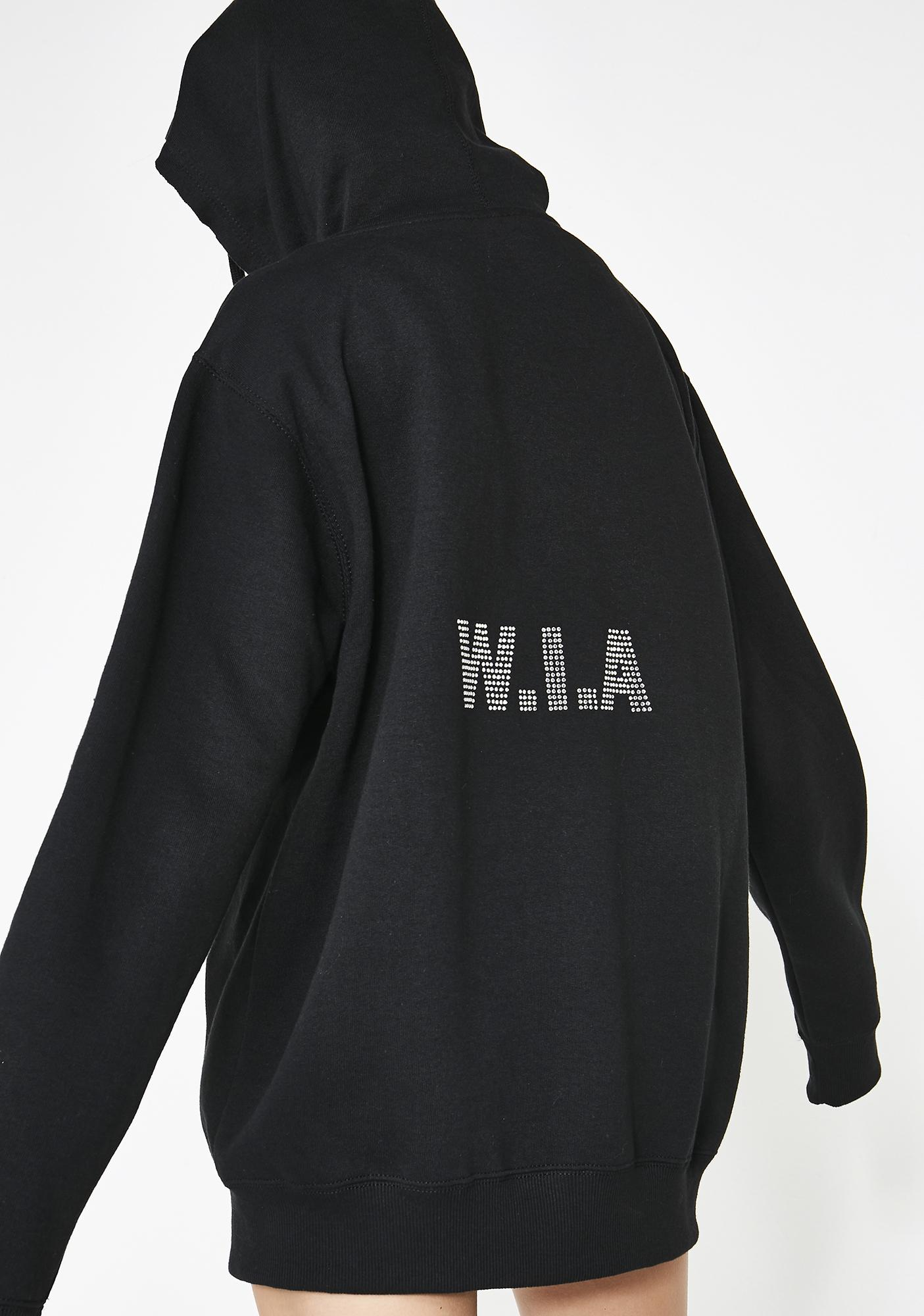W.I.A Perturbed Zip Up Hoodie