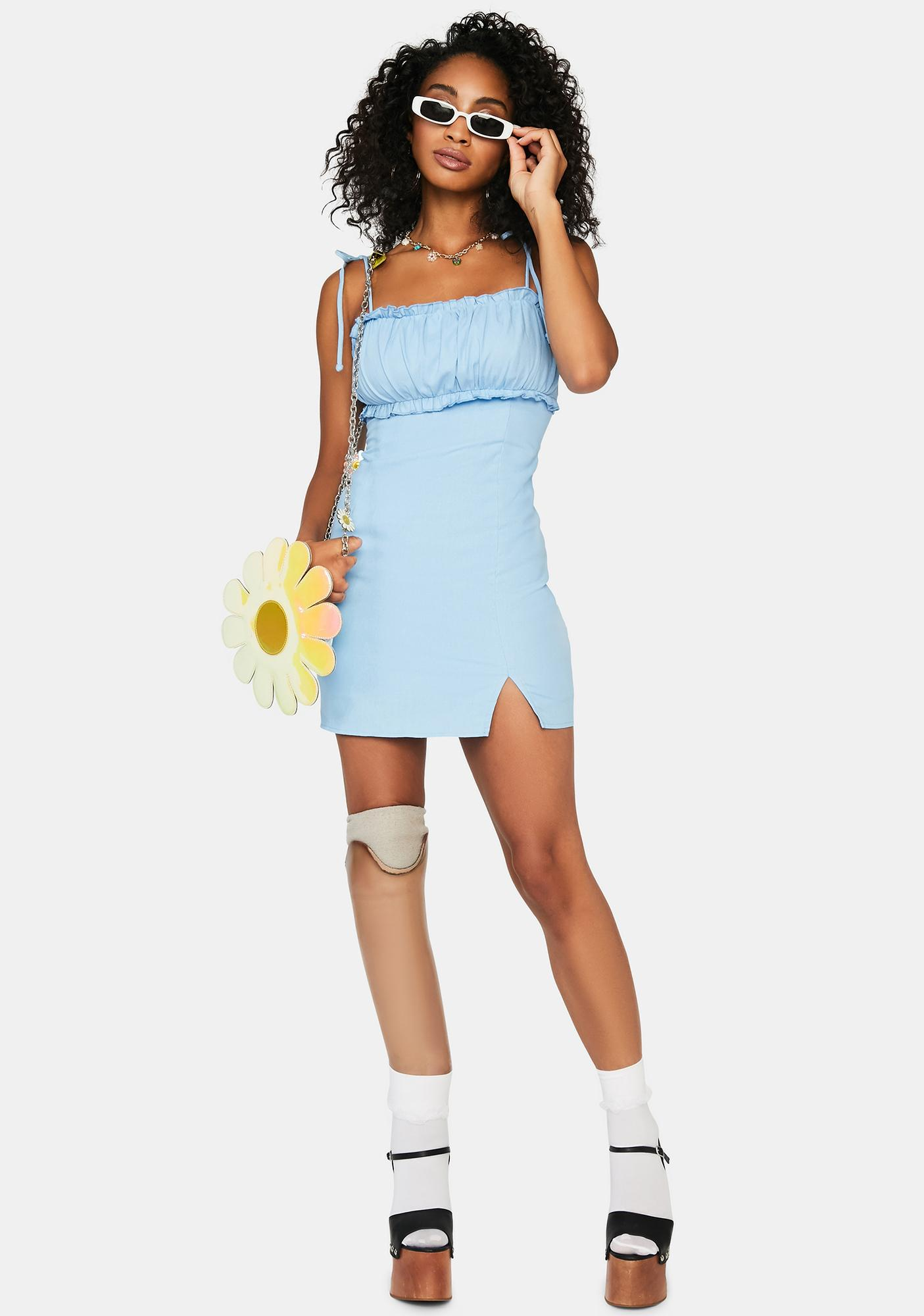 Powder Playing For Keeps Mini Dress