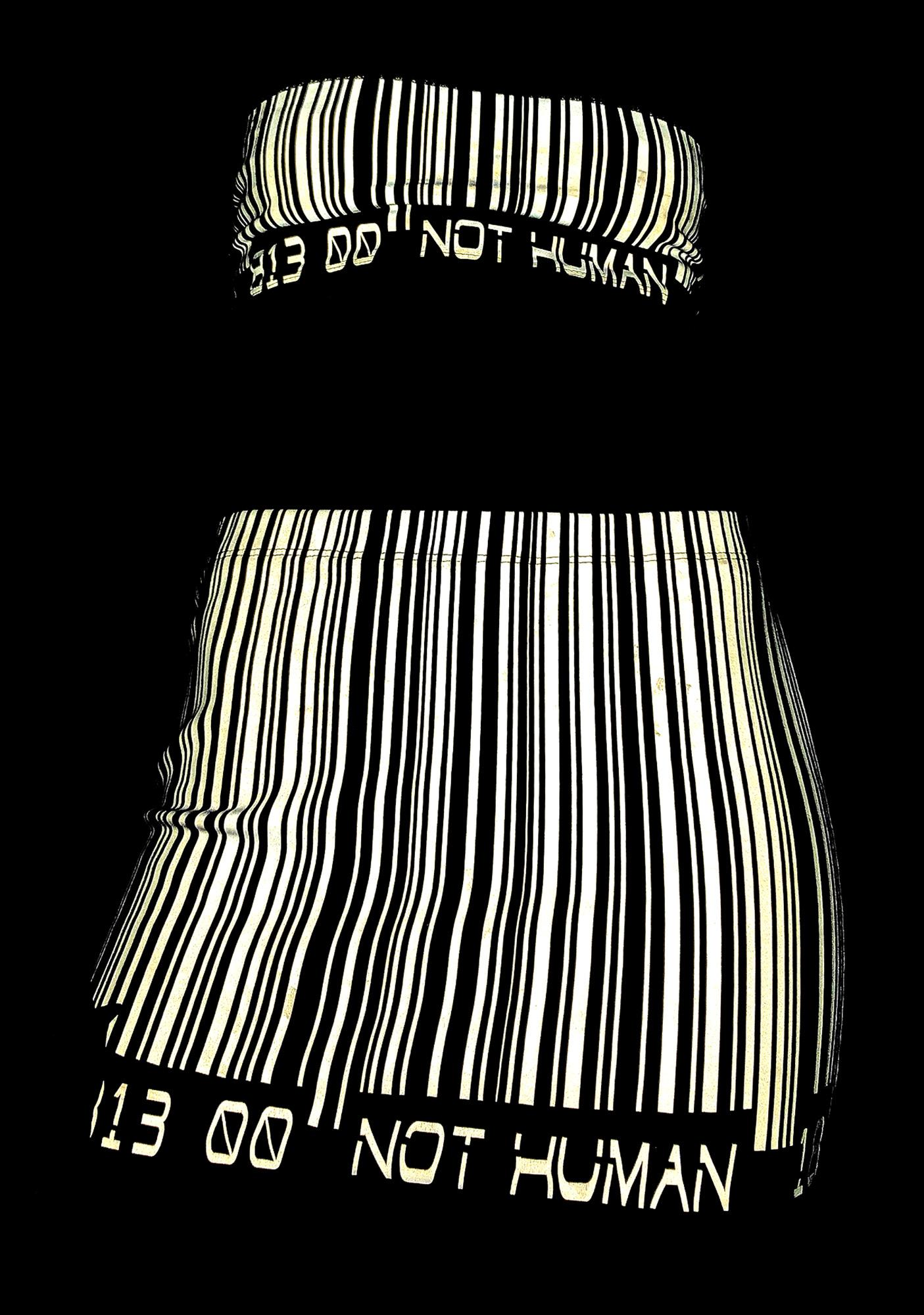 Club Exx Scan Me Up Reflective Skirt