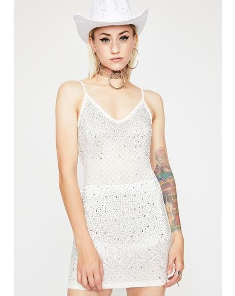 Kiss My Bling Mini Dress