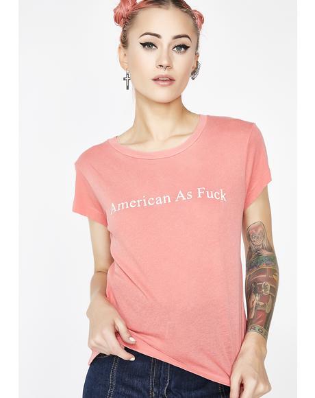 American AF No9 Tee
